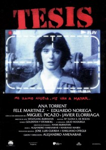 Disección: 'Tesis', de Alejandro Amenábar: 'Darle al público lo que quiera ver'