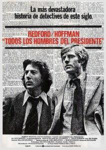 'Todos los hombres del presidente', de Alan J. Pakula. 'Dos hombres y una verdad' vs 'Sobrevivir al periodismo'