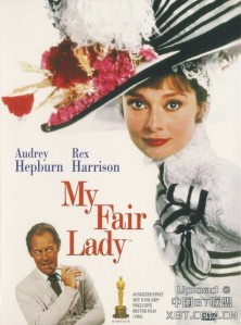 'My Fair Lady', de George Cukor. 'Pigmalión del musical' vs 'Galatea entre flores e interiorismo'