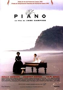 'El Piano', de Jane Campion. 'Pasión muda por cada tecla' vs 'La persuasión de una banda sonora'