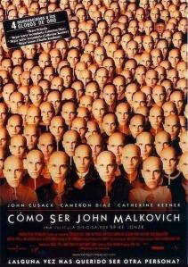 'Cómo ser John Malkovich', de Spike Jonze. 'Memorable surrealismo multigénero' vs 'De repente, otro despropósito'