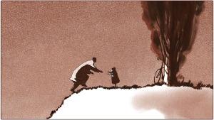 Atado en corto: 'Padre e hija', de Michael Dudok de Wit. 'Así que pasen los años'