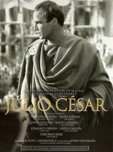 'Julio César', de Joseph L. Mankiewicz. 'Cuando el verbo se hizo cine' vs 'Un Shakespeare distante y solemne'