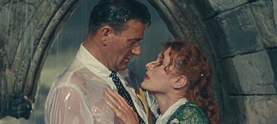 Imagen de 'El hombre tranquilo (1952)' - John Wayne y Maureen O'Hara